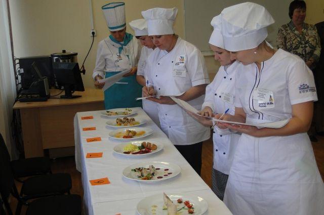 Соревнования проходят в региональном многопрофильном колледже