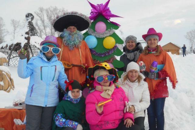 В этом году праздновали по всему Алтайскому краю. На фото - Бийский район.