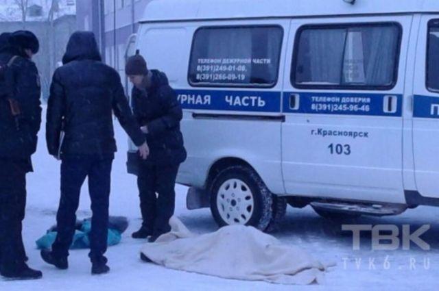 Труп женщины обнаружили на территории школы.