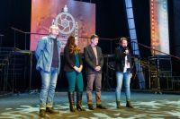 Жюри фестиваля на закрытии.