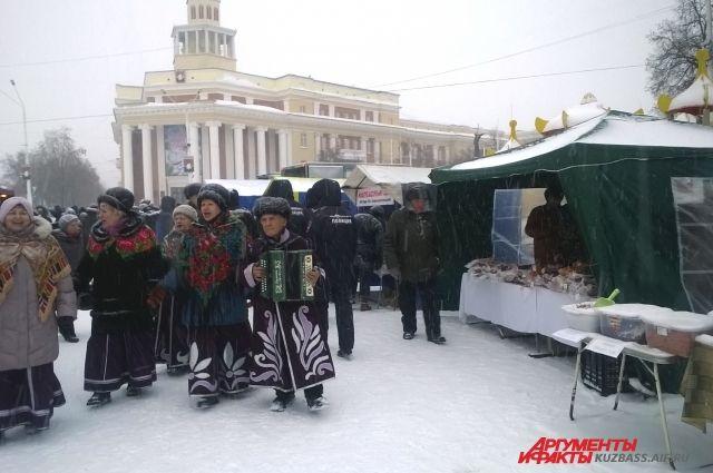 К Новому году в Кузбассе пройдут традиционные ярмарки.