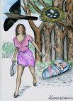 Актуальной остаётся проблема нерадивых матерей, которые бросают новорождённых детей в подъезде, лесу и даже на свалке.