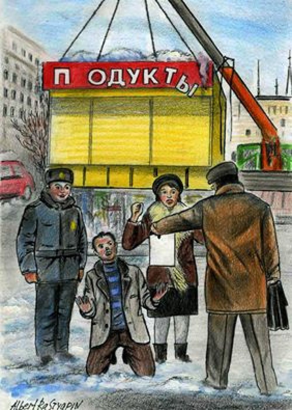 Мэрия Челябинска продолжает сносить незаконные торговые павильоны. Предприниматели заявляют, что некоторые уничтоженные киоски работали легально.