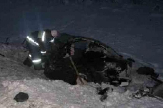 Летний шофёр «Мазды» умер, столкнувшись сфурой вЛукояновском районе
