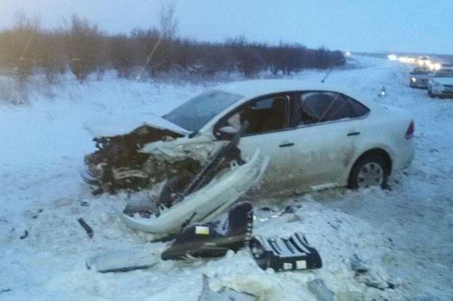 НаСтаврополье встолкновении 2-х легковых автомобилей травмирован ребёнок