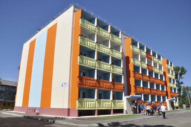 Одним из важнейших событий стало строительство дома для сирот в Лянгасово.