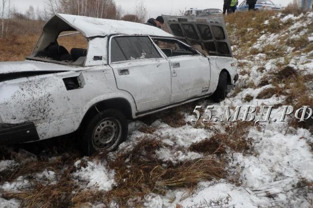 Влобовом столкновении вОмской области пострадал годовалый ребенок