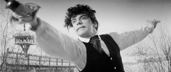 Впервые на экране Вячеслав Шалевич появился в образе Швабрина в фильме «Капитанская дочка» (1958).