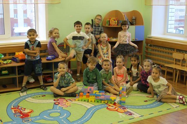 Группа «Изумрудный город» детского сада № 266.
