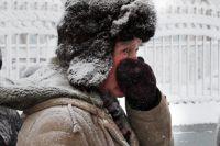 В Новосибирск пришли крепкие морозы