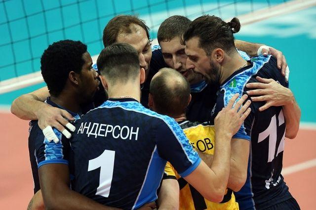 Волейболисты «Динамо» выиграли матч Лиги чемпионов вСтамбуле