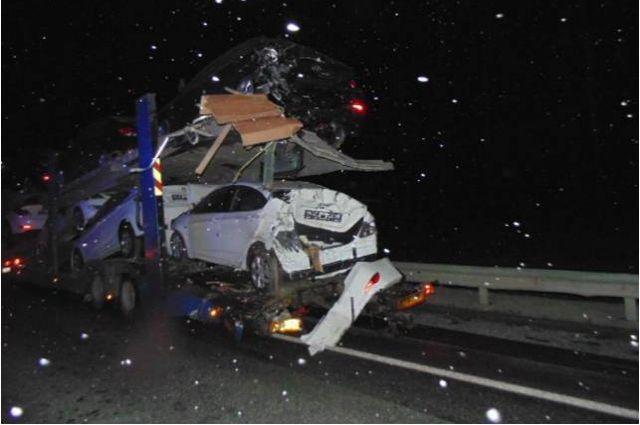 Пассажирка «Great Wall Hover» погибла вДТП натрассе вНовосибирской области