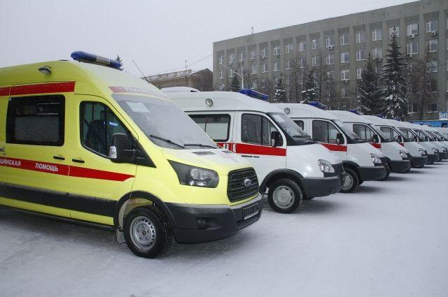 В автопарке кузбасской «скорой помощи» пополнение.
