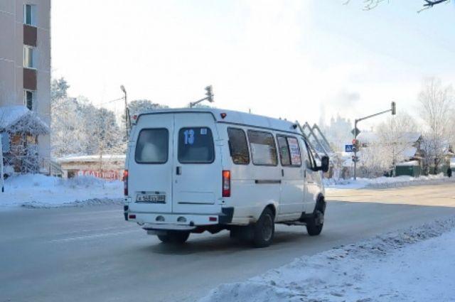 ВЮгре шофёр маршрутки влютый мороз отказался подвозить детей