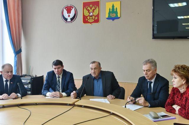 А.В. Соловьев провел рабочую встречу.