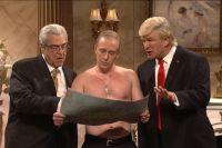 Пародия в шоу Saturday Night Live.