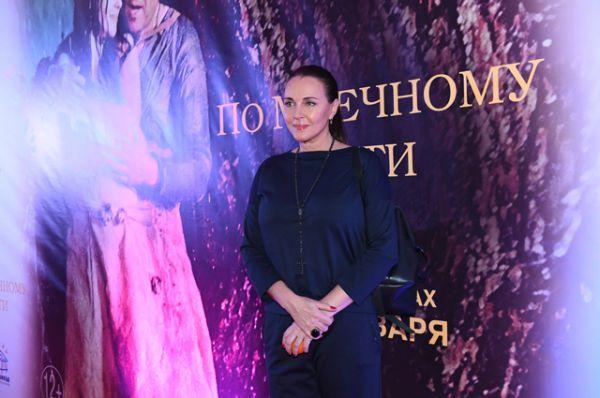 Актриса Татьяна Лютаева.