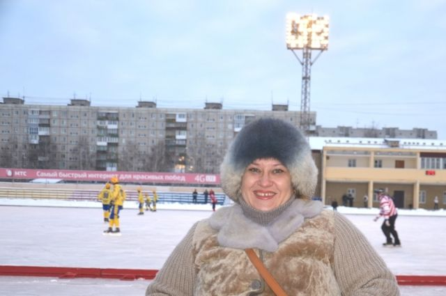 Анастасия Дружинина всегда готова поддержать команду сына.