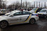 Автомобиль полицейских