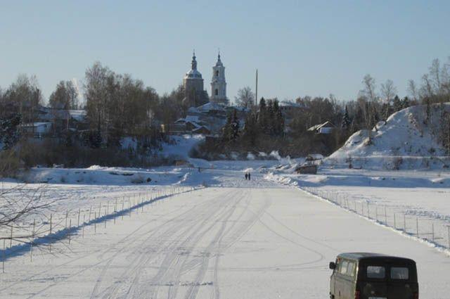 Ледовую переправу через Тобол откроют вЯрковском районе
