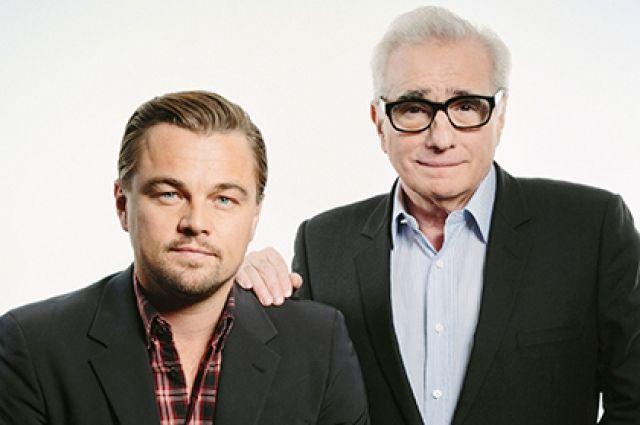 Леонардо Ди Каприо и Мартин Скорсезе