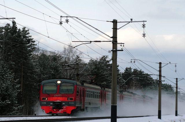 В дни новогодних каникул электропоезда будут ходить реже