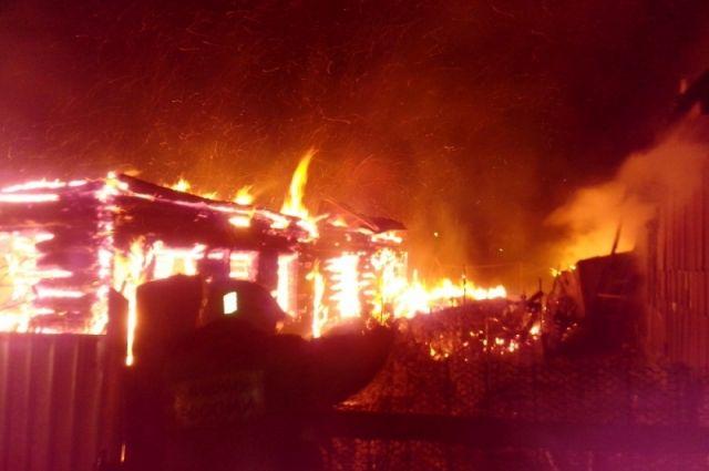 ВЯсногорске напожаре умер ребенок
