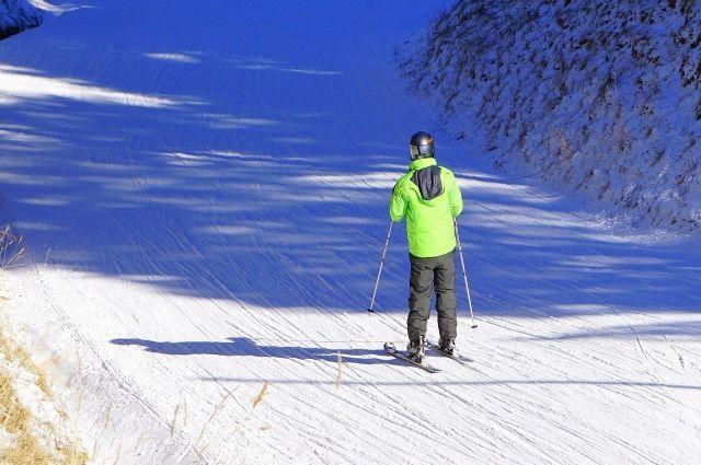 В Оренбурге лыжную трассу на горе Качкарка оставили без света