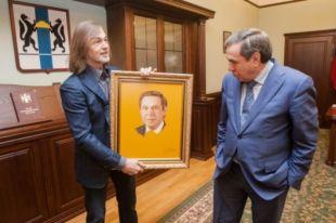 Художник нарисовал губернатора