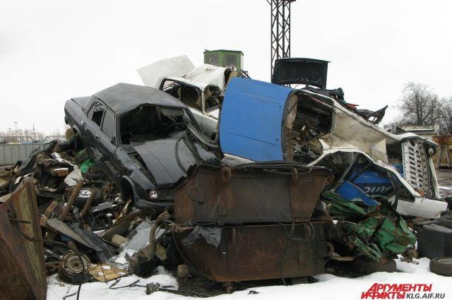 В Калининграде владелица стоянки утилизировала автомобиль клиента.
