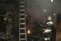 Серьезный пожар на заводе потушили