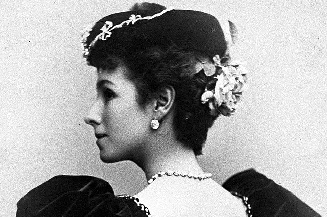 Солистка балета Мариинского театра Матильда Кшесинская. 1898 год.