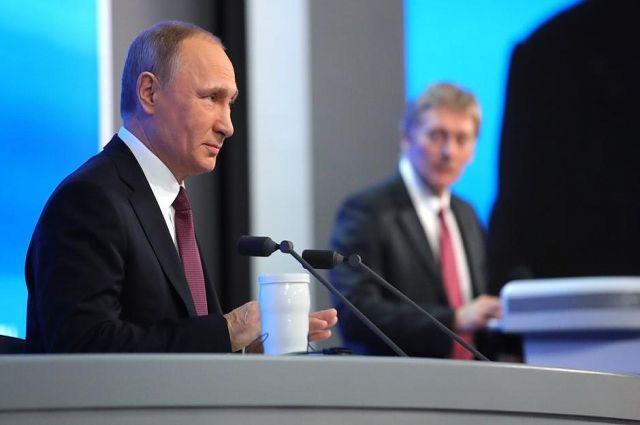 Путин ответил на вопрос об энергоснабжении Калининградской области.