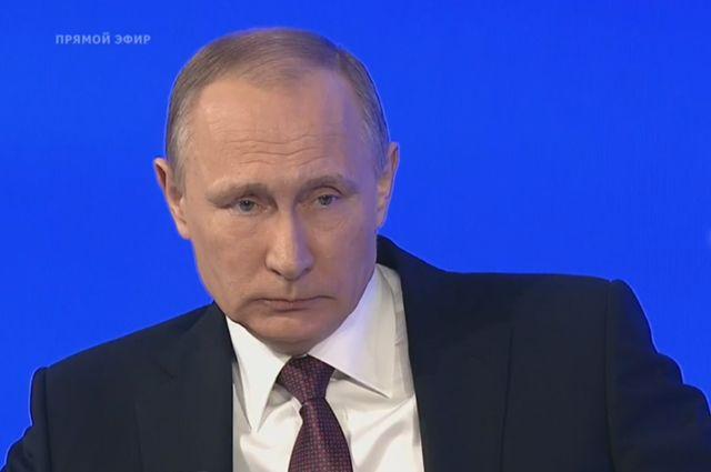 Путин призвал непитаться информационными фобиями