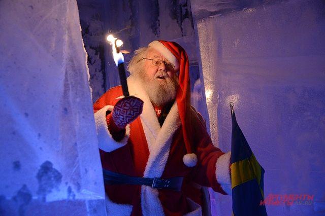 Упряжка оленей Санта-Клауса пролетела над Москвой около 21:30
