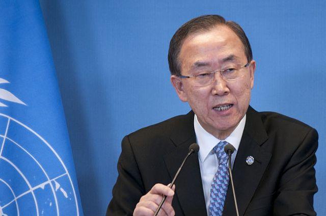 Корейское печатное издание обвинило генерального секретаря ООН Пан ГиМуна вкоррупции