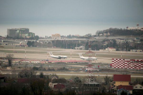 Аэропорт Сочи.