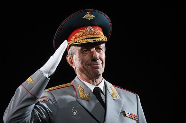 Главный военный дирижер России генерал-лейтенант Валерий Халилов.
