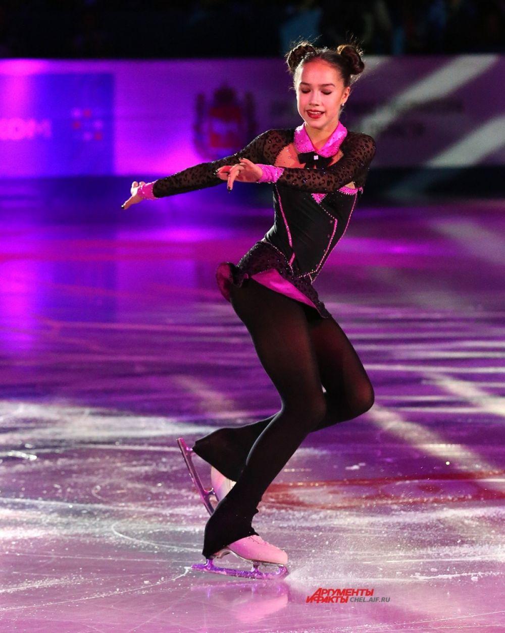 Алина Загитова, Москва, 2 место