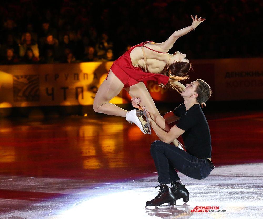 Екатерина Боброва и Дмитрий Соловьёв, Москва, 1 место