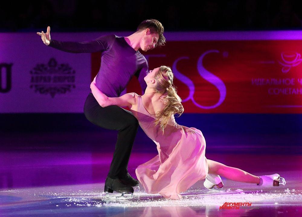 Александра Степанова и Иван Букин, Москва, 2 место