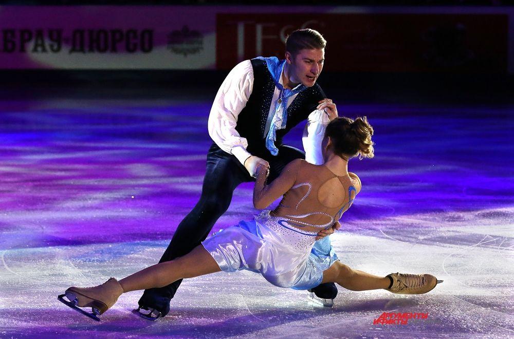 Кристина Астахова и Алексей Рогонов, Москва, 4 место
