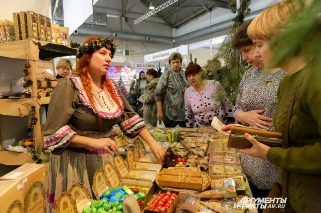 Вцентре Кемерова состоится предновогодняя ярмарка
