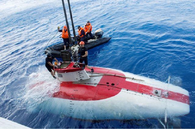 РГО направило два подводных аппарата наместо крушения Ту-154