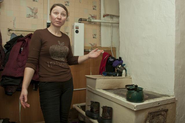 В квартире Юлии теперь не холодно.