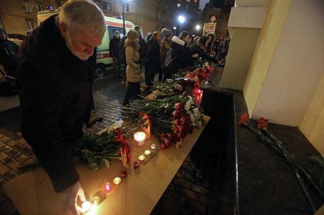 Понедельник объявлен днем траура попогибшим вкатастрофе Ту-154