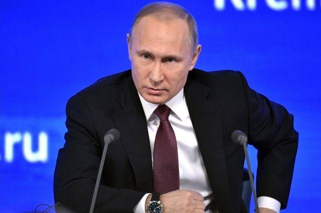 Президент России Владимир Владимирович Путин.