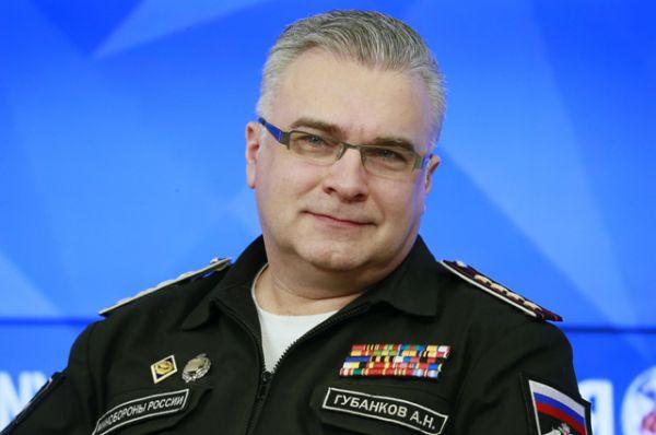 Начальник Управления культуры Министерства обороны РФ Антон Губанков.