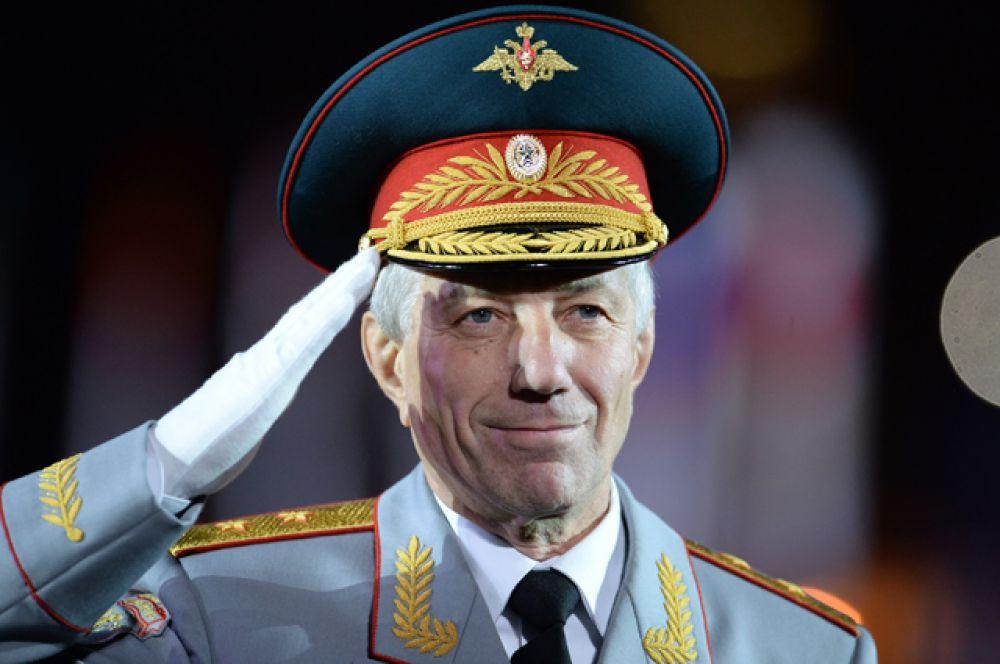 Главный военный дирижер России, генерал-лейтенант Валерий Халилов.
