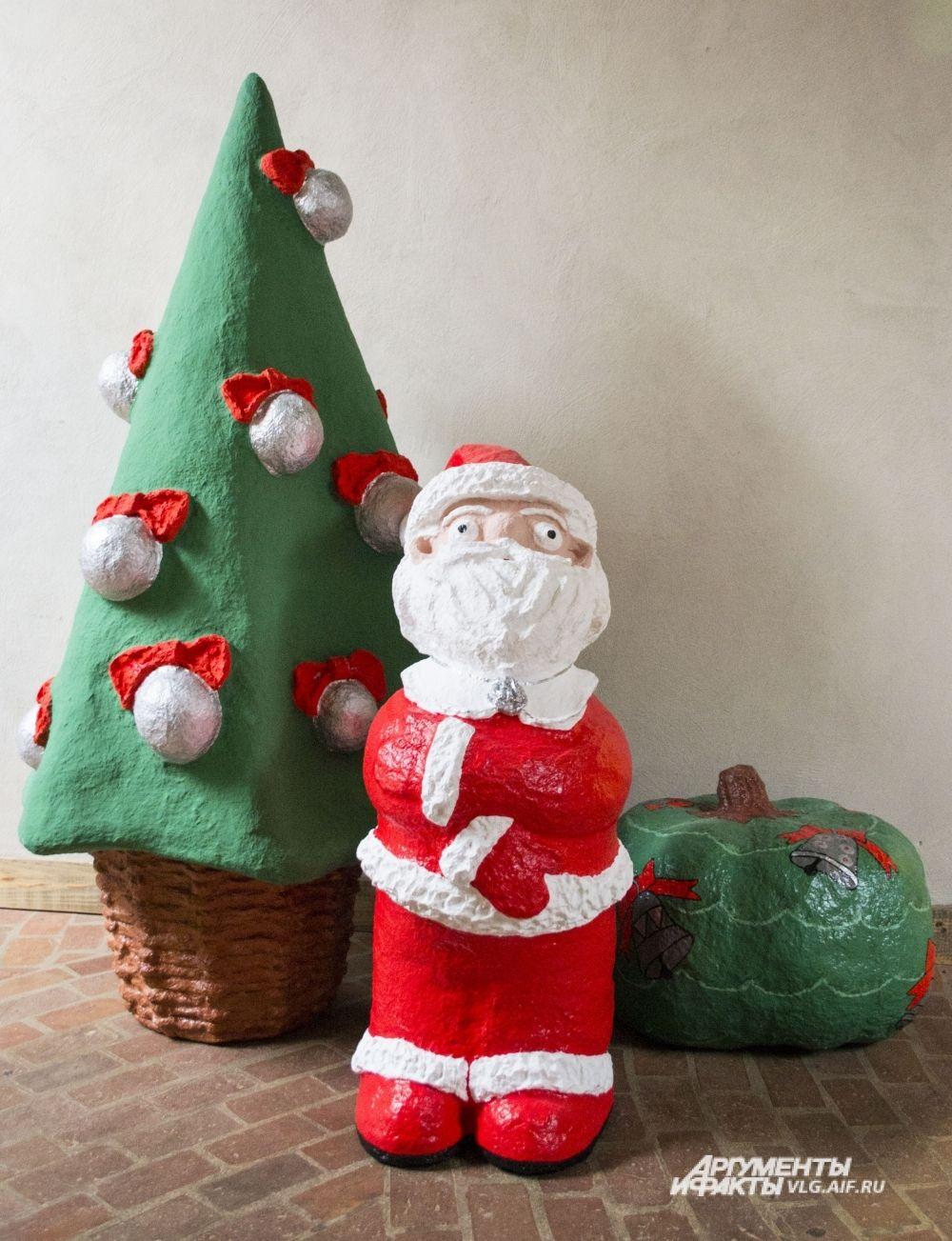 «Некрасивая ёлка» по мотивам одноименной новогодней сказки Евгения Пермяка.
